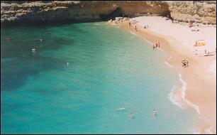 ALGARVE - Albufeira beach