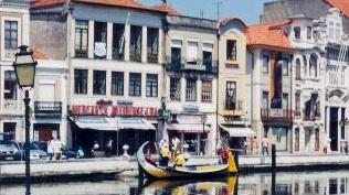 Aveiro's  Central Canal