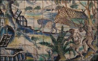 Azulejo panel