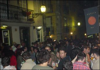 Bairro Alto bar hop