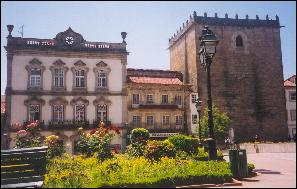 Historic  buildings in Barcelos