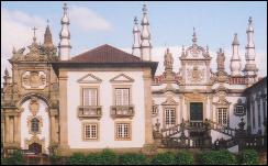 Baroque Mateus Palace in Vila Real
