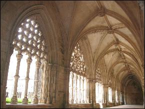 Batalha Abbey cloisters