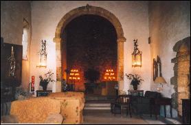 Inside  Belmonte's Pousada