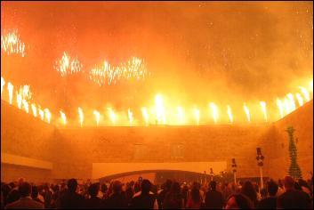 Berardo Museum inauguration fireworks