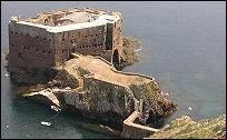 Fort in Berlengas Islands