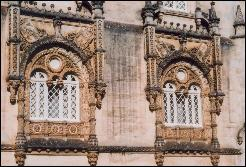 Bucaco Palace windows