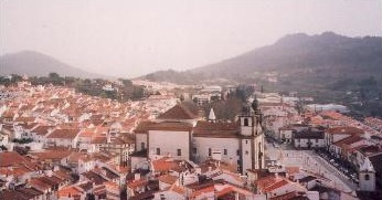 View  of Castelo de Vide from its castle