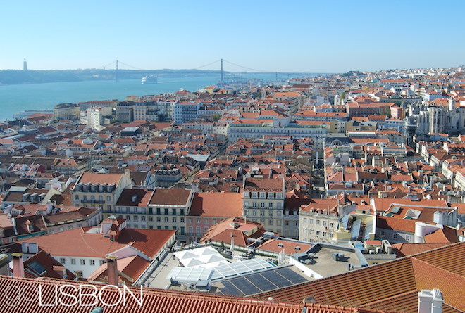 Castle view, Lisbon