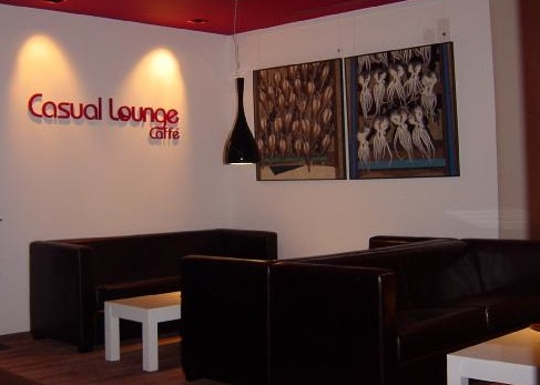 Casual Lounge Caffé in Belém, Lisbon