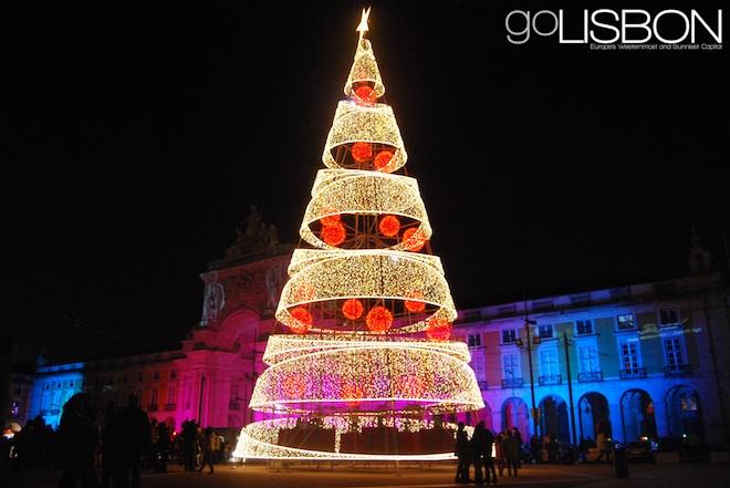 Christmas tree, Lisbon