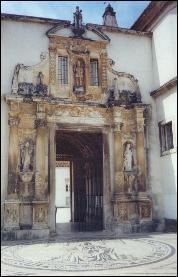 Coimbra University gate