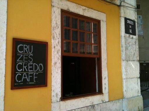 Cruzes Credo Café, Lisbon