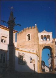 Elvas'  Largo Santa Clara