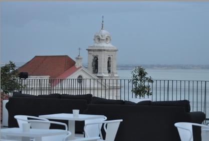 Esplanada Café Portas do Sol, Lisbon