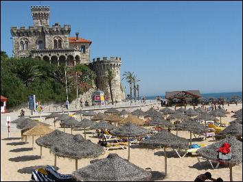 Tamariz  Beach in Estoril