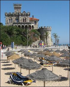 Beach in Estoril