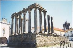 Evora's Temple of Diana