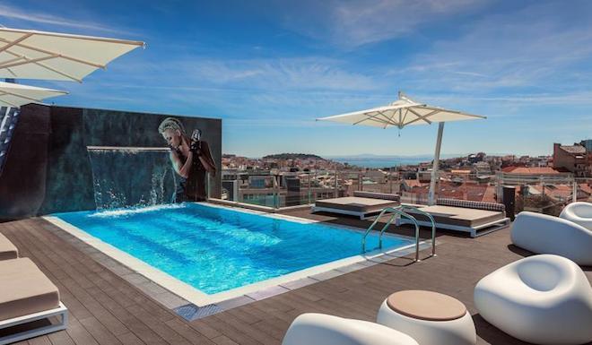 Go lisbon blog blog archive 10 new hotels in lisbon for Lisbon boutique hotel swimming pool