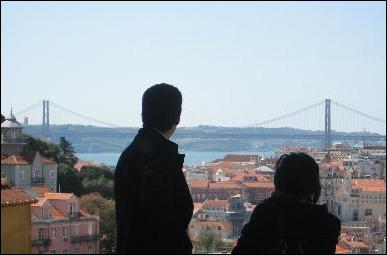 Admiring Lisbon