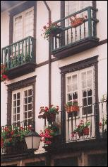 Typical  Guimaraes windows
