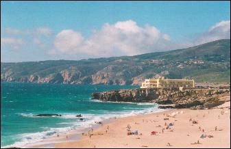 Guincho Beach in Cascais