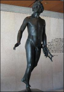 Houdon's bronze Apollo at the Gulbenkian Museum