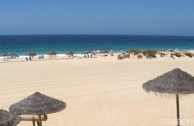 Troia Beach Near Lisbon Portugal