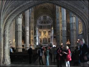 Inside Lisbon's Jeronimos Monastery