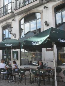 Irish pub in Lisbon