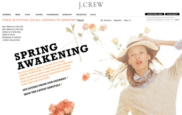 J Crew Catalogue in Lisbon