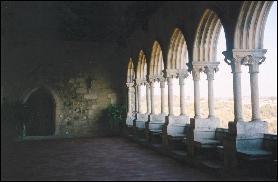 Inside Leiria Castle