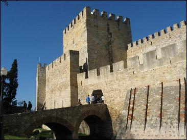 Lisbon's ancient castle
