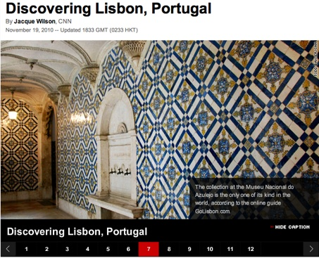 Lisbon tour from CNN