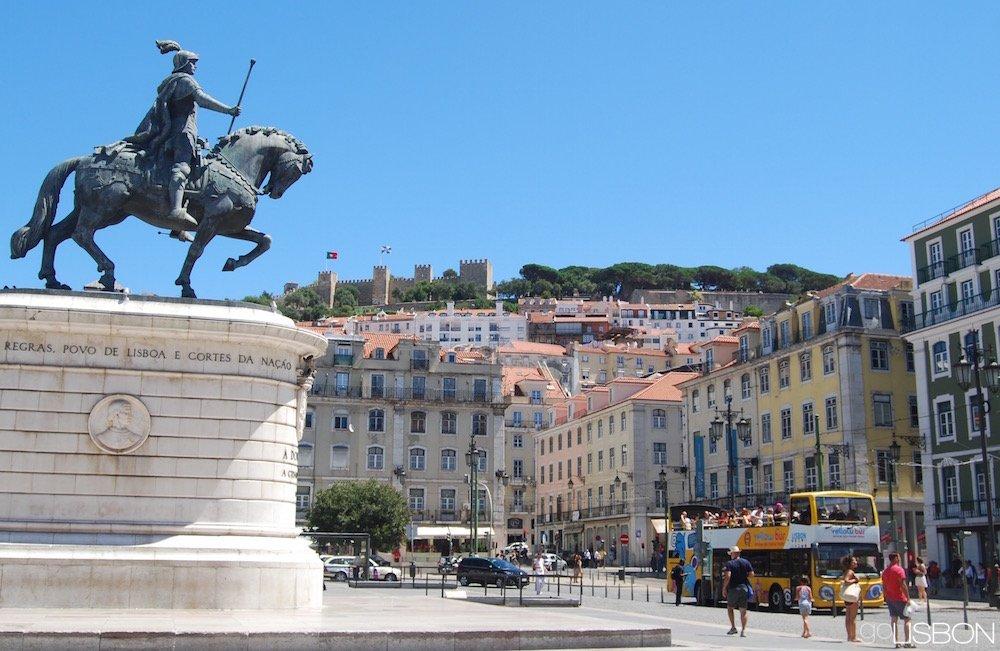 Figueira Square Praça Da Figueira Lisbon
