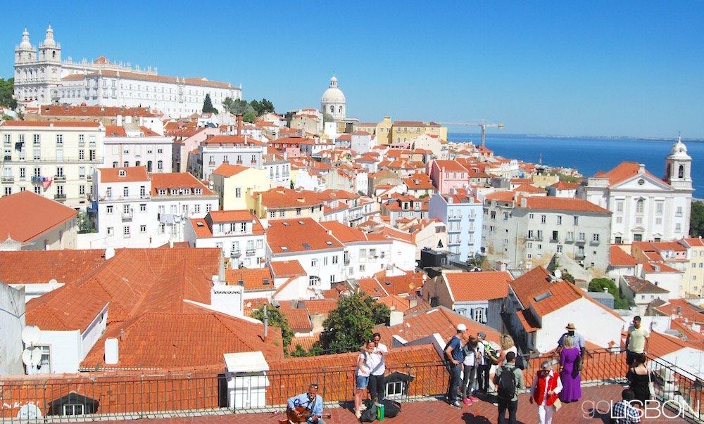 MIRADOURO DAS PORTAS DO SOL, Lisbon