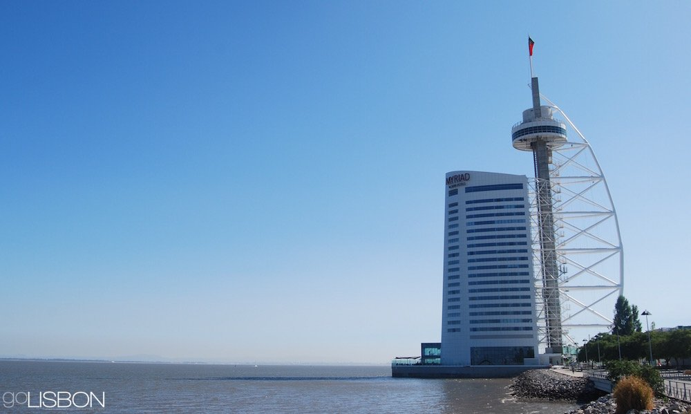 Vasco da Gama Tower, Lisbon