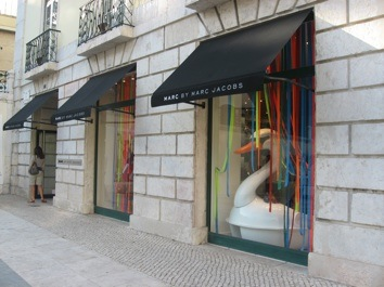 Marc Jacobs shop, Lisbon