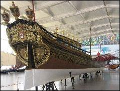 Ceremonial barge in the Maritime Museum
