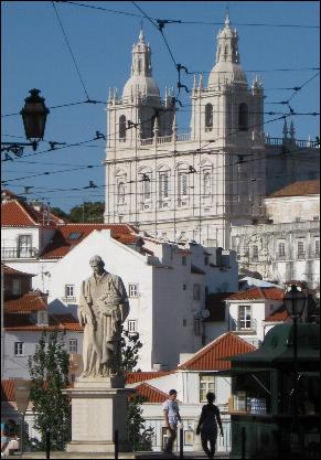Viewpoint in Alfama