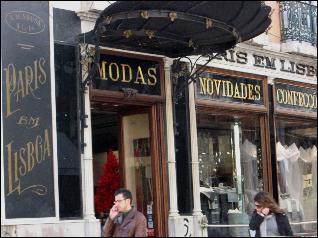 Paris em Lisboa shop in Chiado