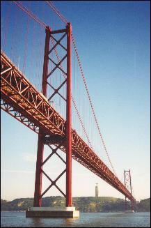 25 de Abril Bridge, originally named Salazar Bridge