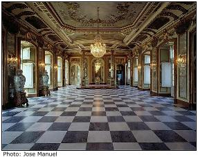 Queluz Palace room
