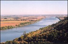 View of the river from Portas do Sol, Santarem