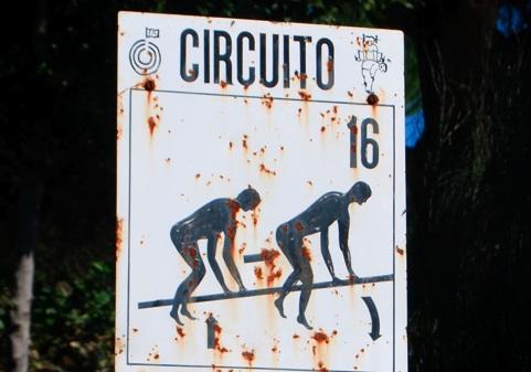 Strange sign in Lisbon, Portugal