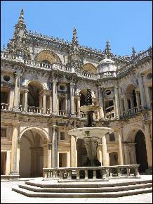 Tomar convent cloisters