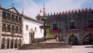 Viana do Castelo's main square